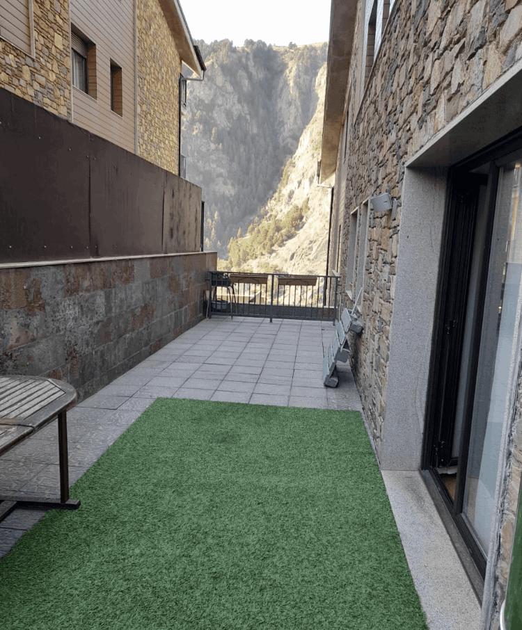 Piso en venta 3 habitaciones con jardin en Canillo